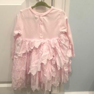 Taille 18 month girls pink dress